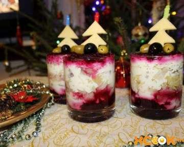 Шуба на Новый год – рецепт с фото оригинального приготовления «Селедки под шубой» на новогодний стол 2020