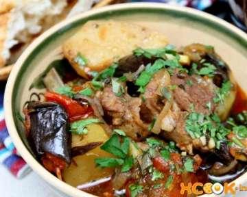 Чанахи по-грузински из баранины в горшочках – пошаговый рецепт приготовления с фото