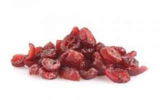 Клюква сушеная — калорийность, польза и противопоказания