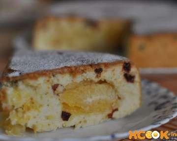 Пышная шарлотка с апельсинами – пошаговый рецепт с фото, как приготовить в мультиварке с цедрой и изюмом