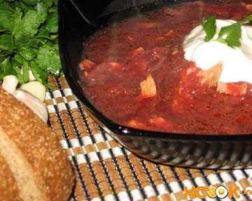 Вкусный борщ с томатной пастой – пошаговый рецепт с фото, как его варить