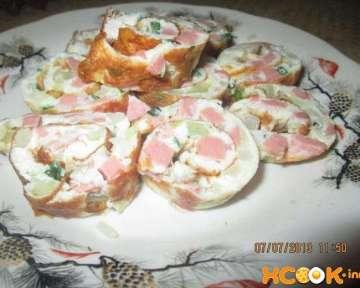Корейские блинчики пучимге – пошаговый рецепт с фото приготовления яичных блинов с луком и колбасой