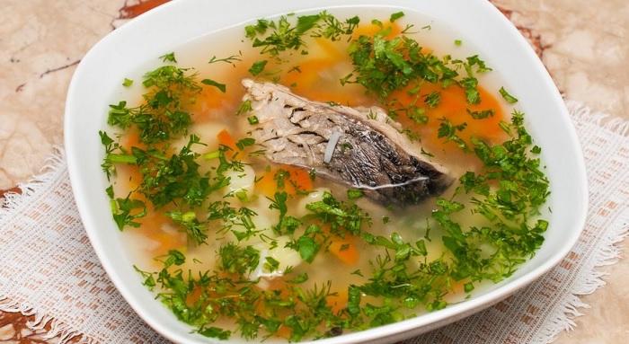 Суп из сазана в мульиварке