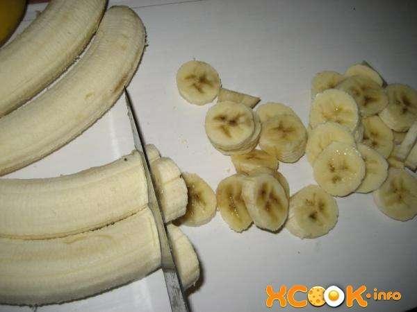 как нарезать бананы
