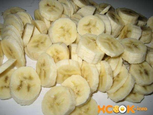 банановая нарезка