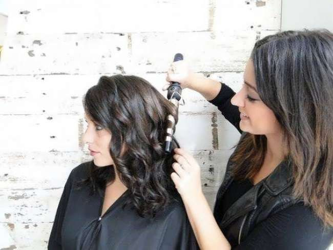 накручиваем волосы