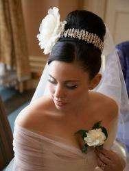свадебный пучок