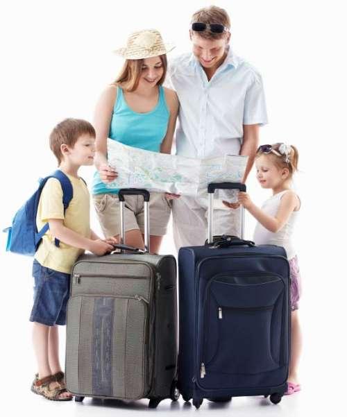 чемоданы на отдых