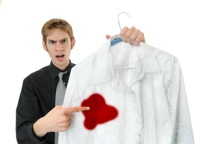 чем вывести с одежды