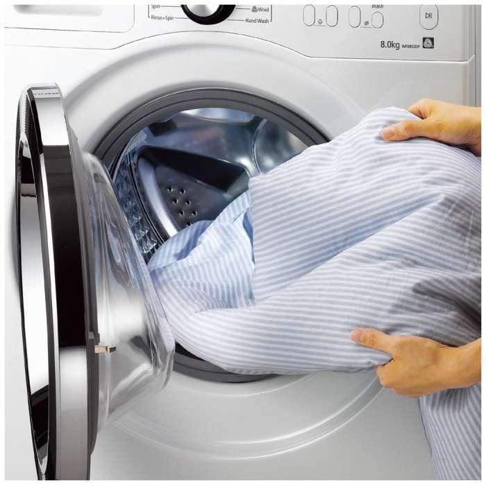 отстирать в стиральной машинке