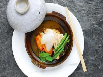 морепродукты с овощами рецепт